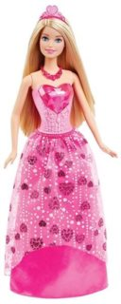 MATTEL Barbie Princezna - Blondýnka