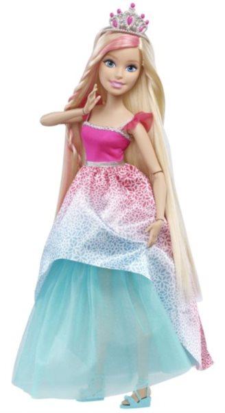 MATTEL Barbie - Princezna (Blondýnka) s dlouhými vlasy 43 cm