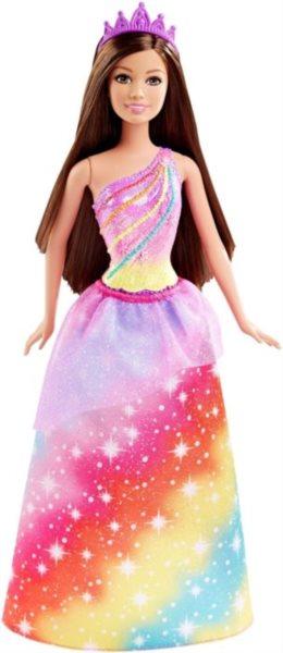 MATTEL Barbie Barbie Princezna - Brunetka