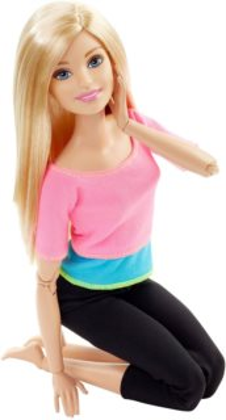 MATTEL Barbie V Pohybu - Blondýnka