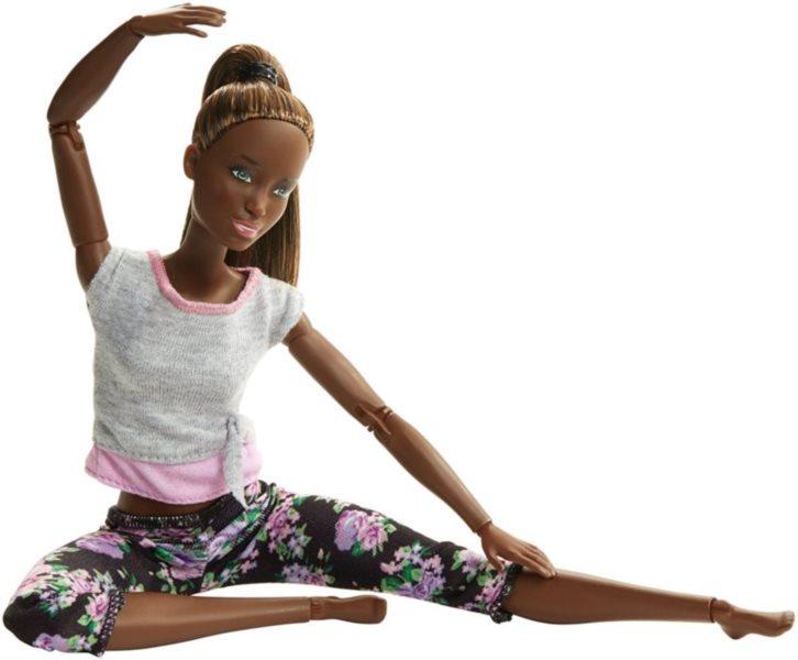 MATTEL Barbie V pohybu - Afroameričanka