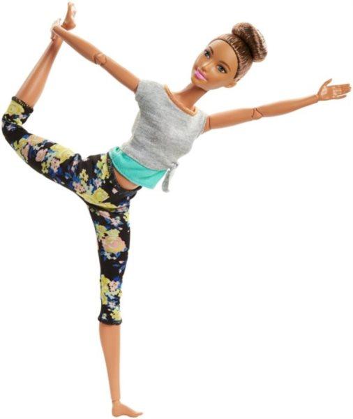 MATTEL Barbie V pohybu - Bruneta