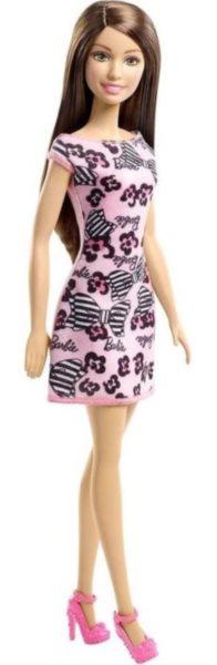 Barbie v šatech - Brunetka