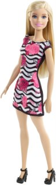 MATTEL Barbie v šatech - Blondýnka