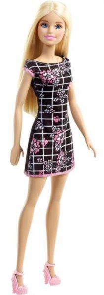 Barbie v šatech (černých) - Blondýnka