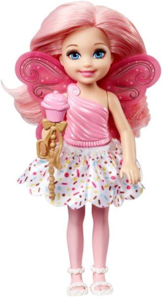 MATTEL Barbie víla Chelsea - Světle růžová