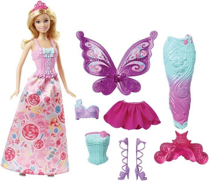 MATTEL Barbie víla s pohádkovým oblečením
