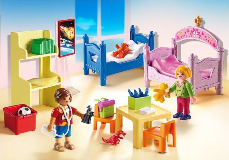 PLAYMOBIL Barevný dětský pokoj 5306