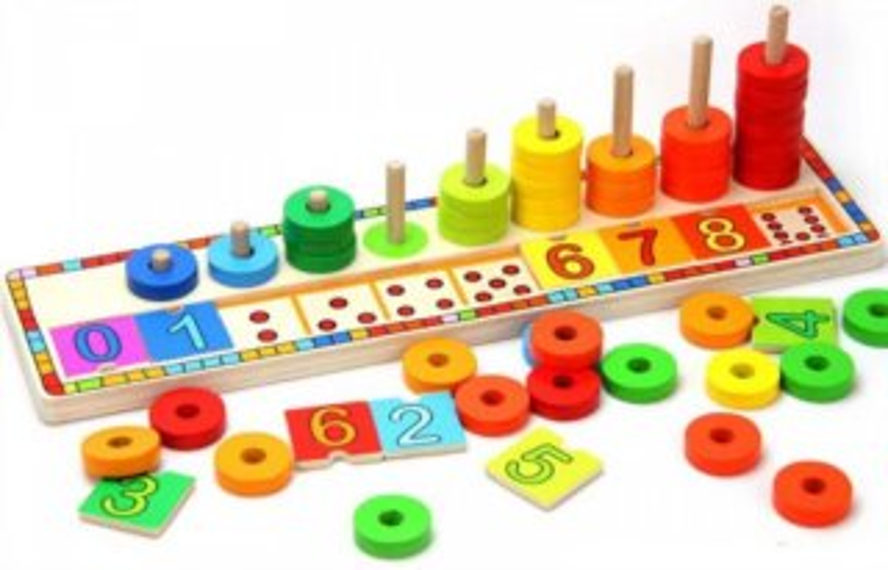 TOP BRIGHT Hravé učení barev a počítání