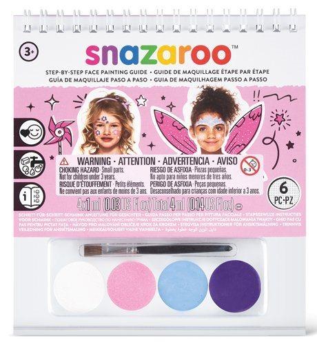 SNAZAROO Barvy na obličej (růžová sada)
