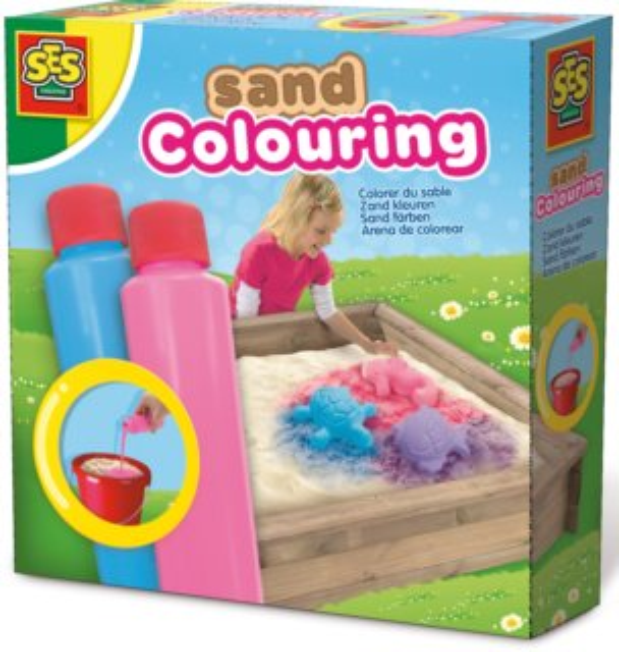 SES Barvy na písek - Modrá a růžová
