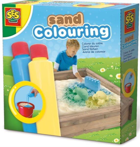 SES Barvy na písek - Modrá a žlutá