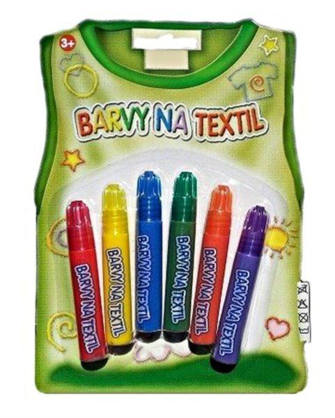 Barvy na textil - fixy