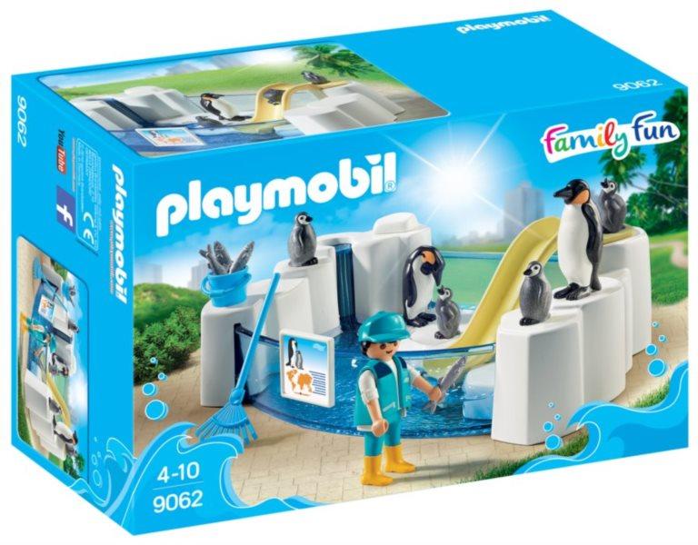 Playmobil 9062 Bazén pro tučňáky