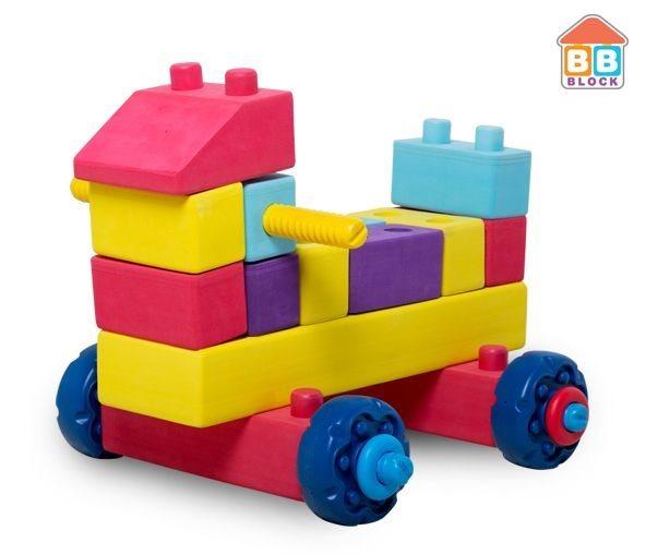BB Block Auto 41 dílků