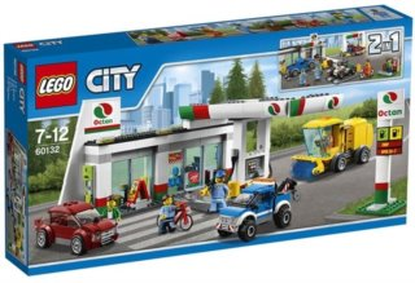 Stavebnice LEGO® City Benzínová stanice 60132
