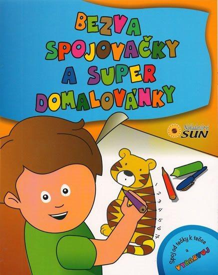 Kniha: Bezva spojovačky a super domalovánky, Nakladatelství SUN