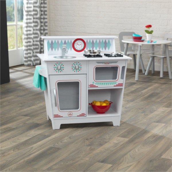 KIDKRAFT Dřevěná kuchyňka Classic - bílá