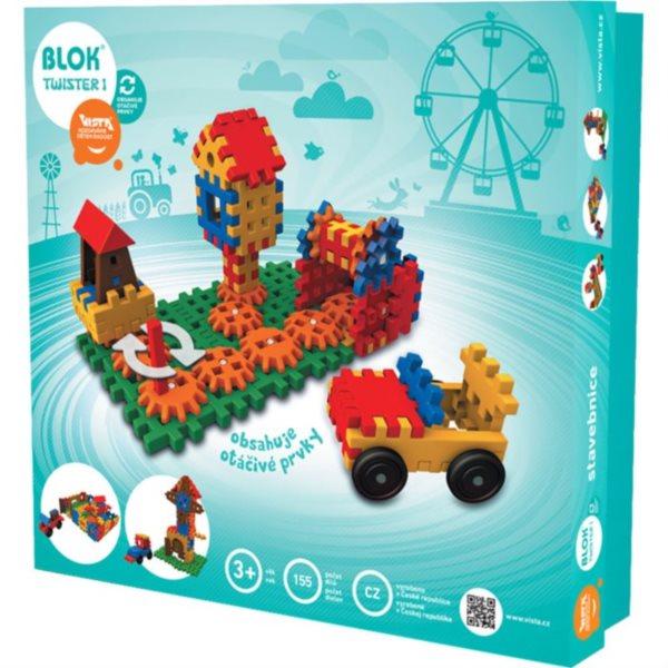 Stavebnice BLOK Twister 1 (155 dílků)