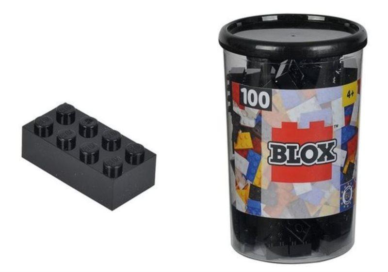 Blox 100 Kostičky černé v boxu