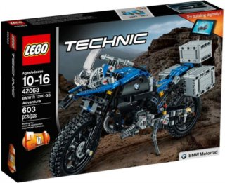 Stavebnice LEGO® Technic 42063 BMW R 1200 GS Adventure