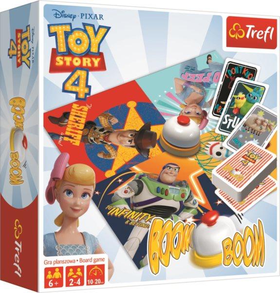 TREFL Hra Boom boom Toy Story 4: Příběh hraček