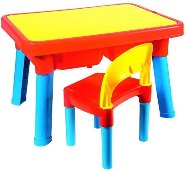poškozený obal: ANDRONI Multifunční stoleček se židličkou