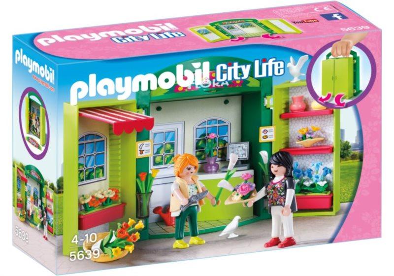 PLAYMOBIL Box na hraní Květinářství 5639