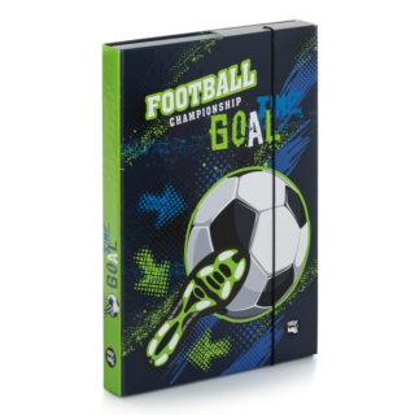 OXYBAG Box na sešity A4 Fotbal