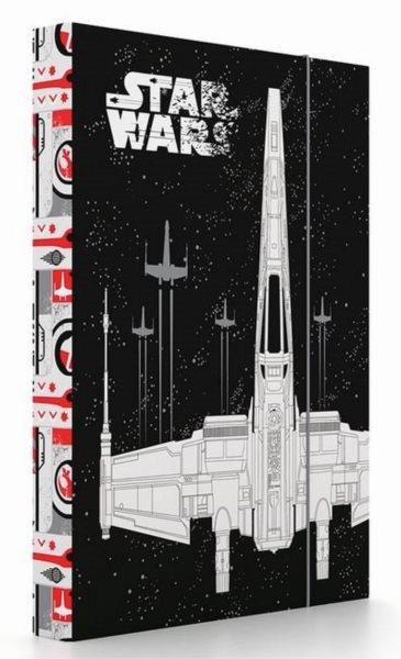 KARTON P+P Box na sešity A4 Star Wars