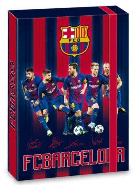 ARS UNA Box na sešity A4 FC Barcelona Hráči