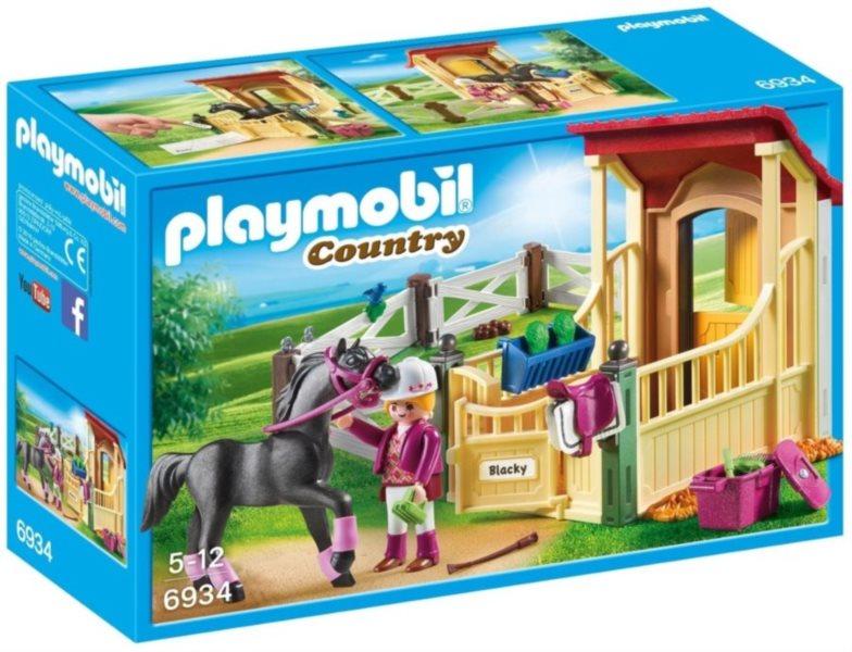 PLAYMOBIL Box pro koně - Arabský kůň 6934