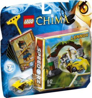 Stavebnice LEGO® Chima 70104 Brány do džungle