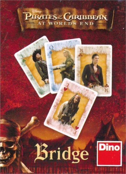Dětské karty DINO, Bridge - Piráti z Karibiku