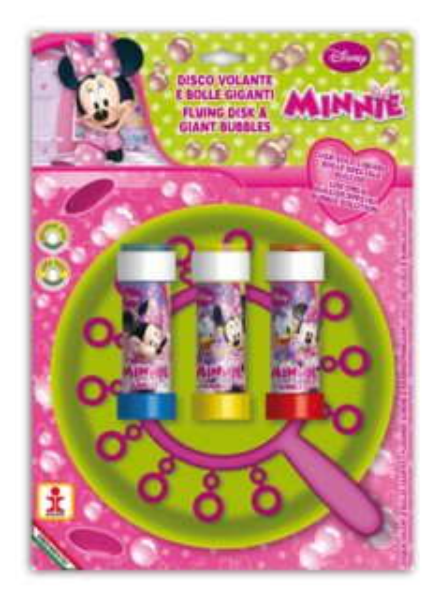 Bublifuk s diskem Minnie