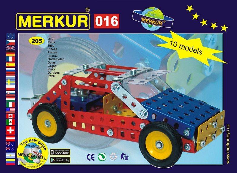 Stavebnice MERKUR - Buggy M016
