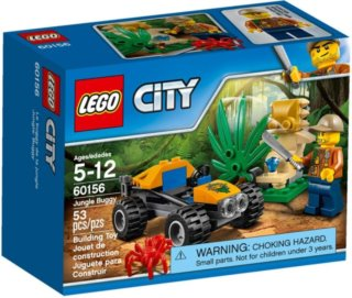Stavebnice LEGO® City 60156 Bugina do džungle