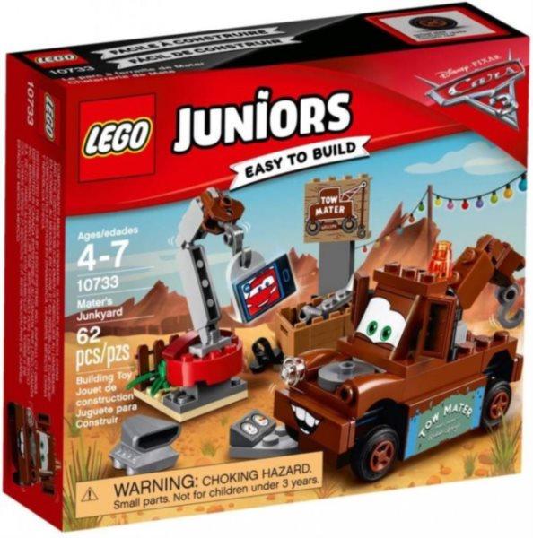 poškozený obal: Stavebnice LEGO® Juniors 10733 Burákovo smetiště