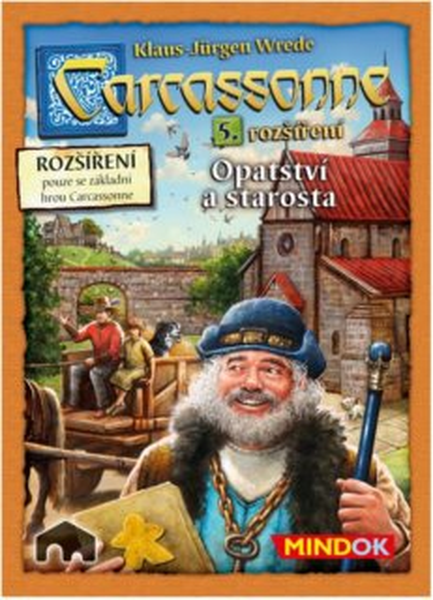 Hra Carcassonne: Opatství a starosta (5.rozšíření), MINDOK