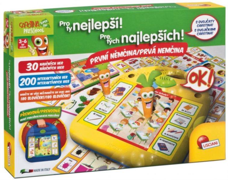 Interaktivní hra LISCIANI, Carotina Pro ty nejlepší: První němčina