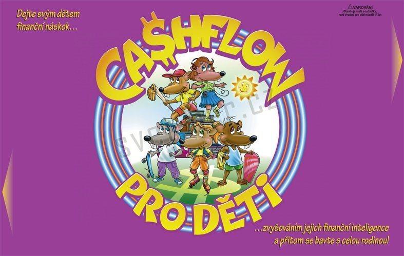 poškozený obal: Hra pro celou rodinu: Cashflow pro děti