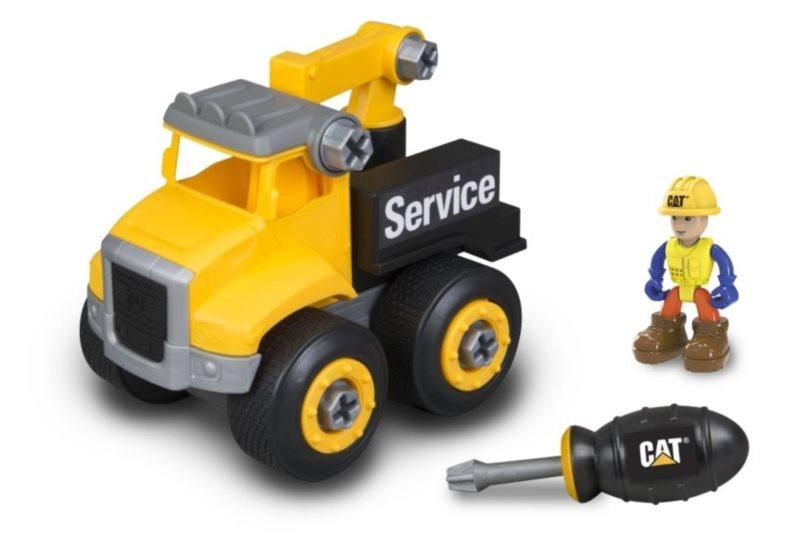 Toy State: CAT stavebnice: Servisní vůz