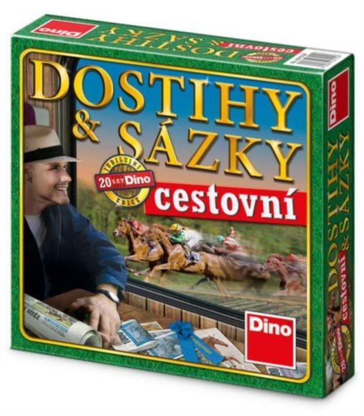 Společenská hra Dostihy a sázky (cestovní verze) DINO