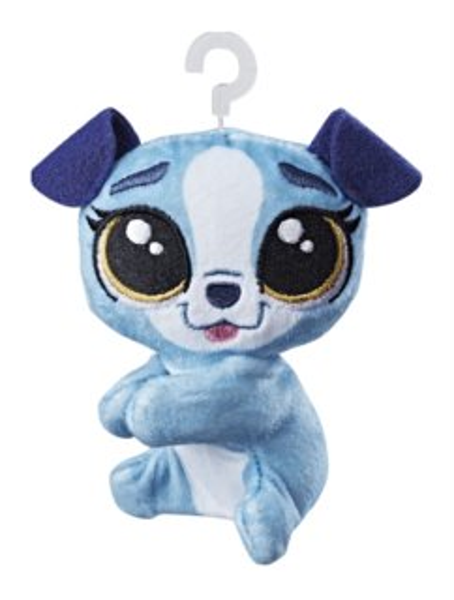 Hasbro Littlest Pet Shop LPS Plyšový pejsek Buster Boxington s klipem