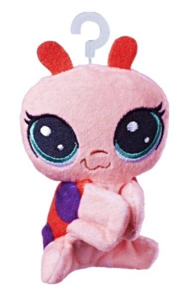 Hasbro Littlest Pet Shop LPS Plyšová beruška Gladys Ladyloo s klipem