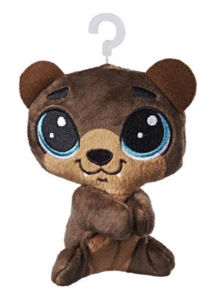 Hasbro Littlest Pet Shop LPS Plyšový medvídek Hoffman Beary s klipem