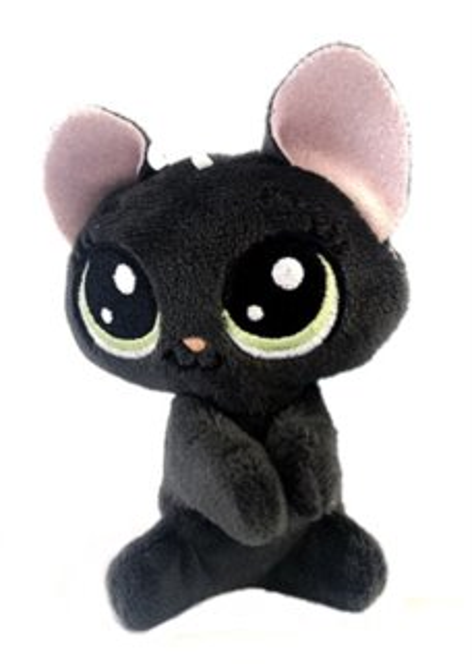 Hasbro Littlest Pet Shop LPS Plyšová kočička Jade Catkin s klipem