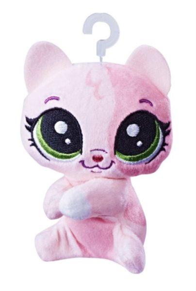 Hasbro Littlest Pet Shop LPS Plyšová kočička Pinky Calicoco s klipem