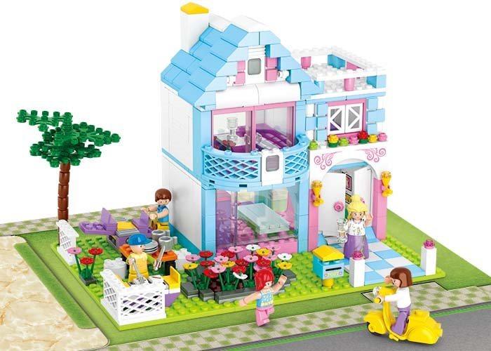 Stavebnice SLUBAN Rodinný dům