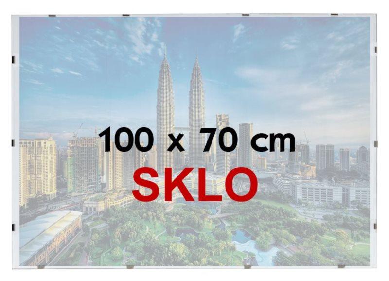 BFHM Rám na puzzle Euroclip 100x70cm (sklo)